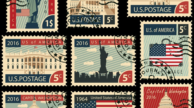 Snail Mail 101 How Many Stamps Do You