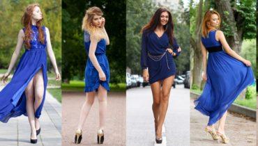 shoes for a blue dress