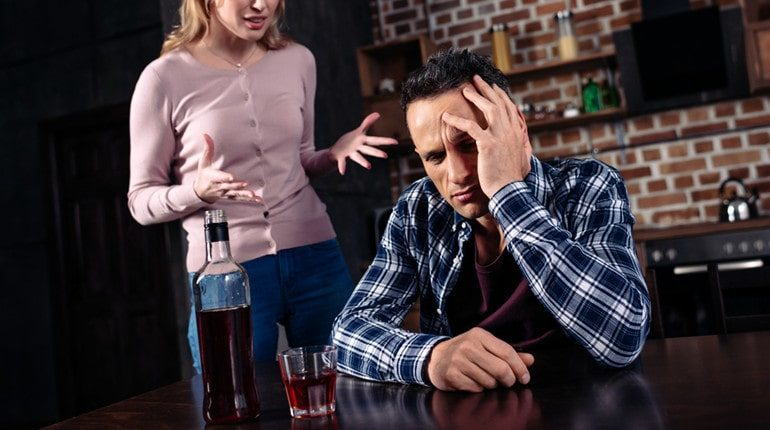 alcohol affects relationships