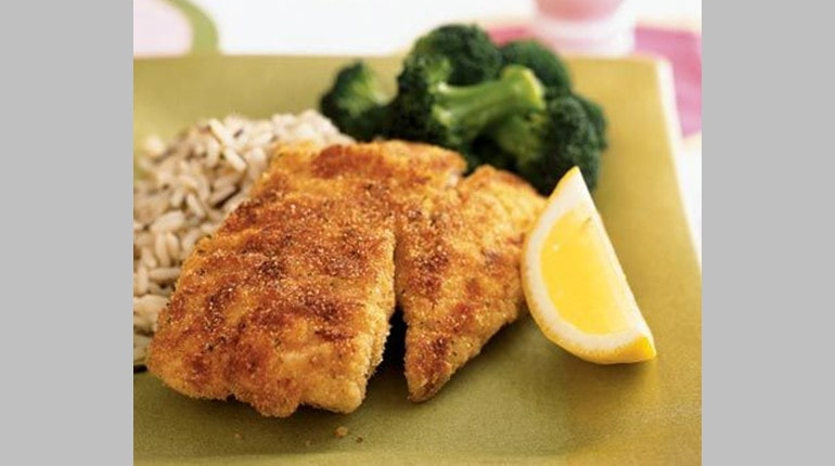 Pan-Fried Bass