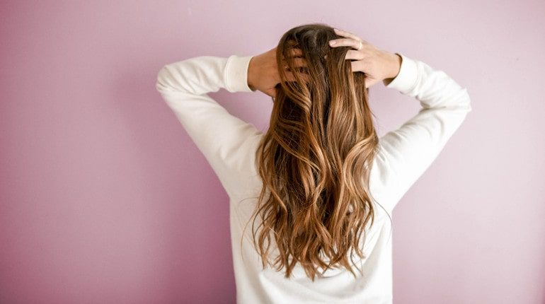 hard water on your hair