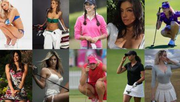 hottest female golfers