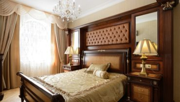 make your bedroom luxurious