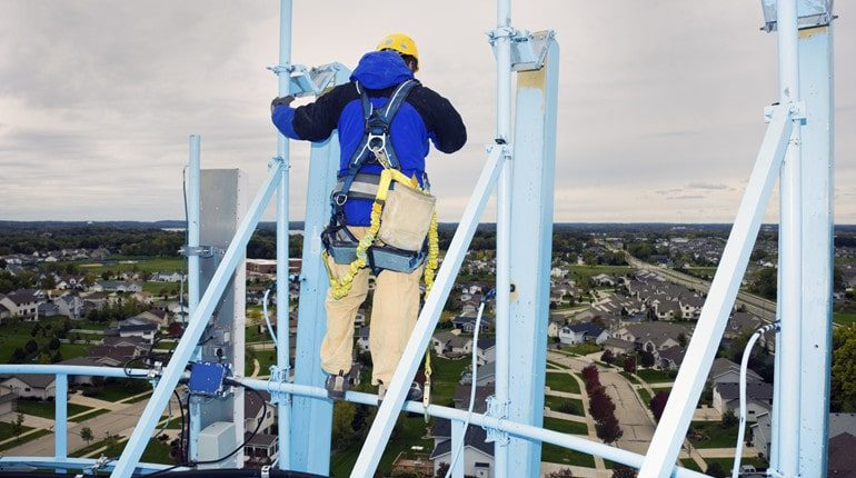 risks minimized when working on heights