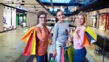 money savings shopping at mall